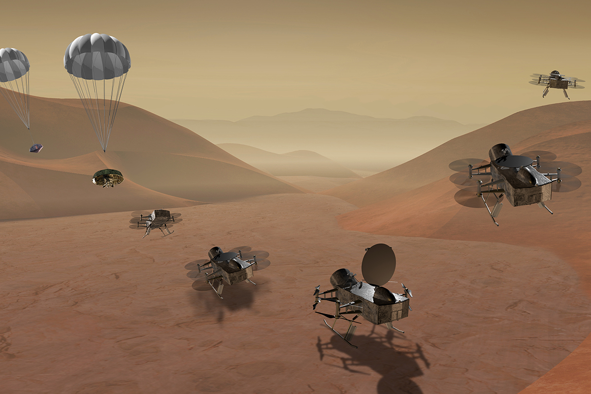 NASA plans a launch to Titan or a return to comet 67P in 2025