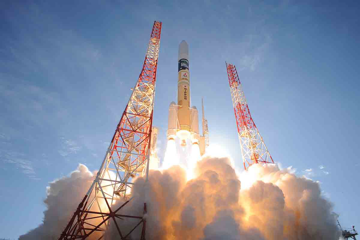 Japan launches super-low-orbit satellite to test ion engines