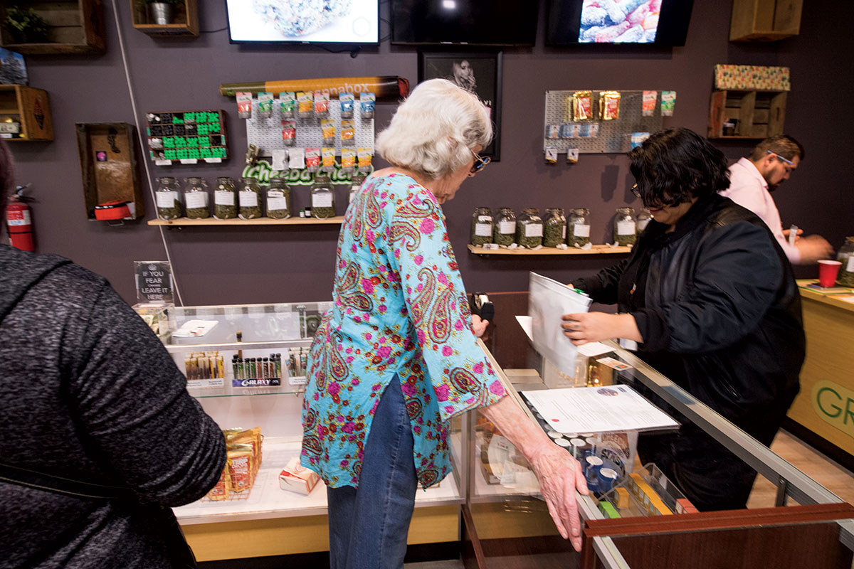 Californians can now buy marijuana for recreational use