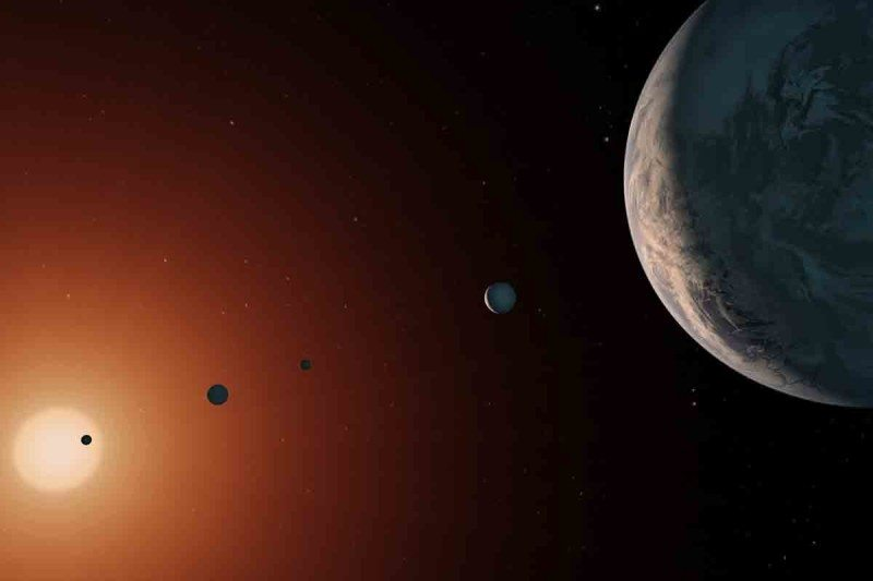 The TRAPPIST-1 exoplanets are lava worlds and ice balls