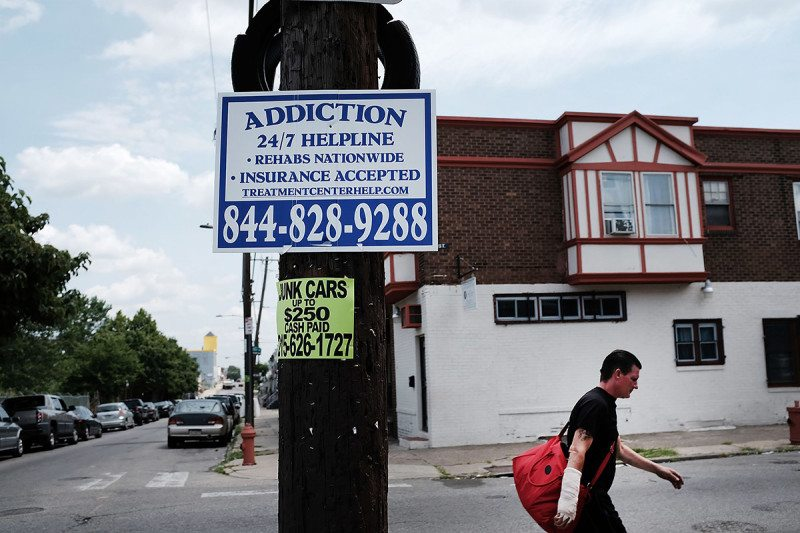 Over 900 people died last year in Philadelphia from opioid overdoses, a 30 percent increase from 2015