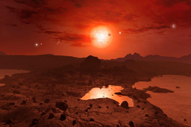 TRAPPIST-1 planet