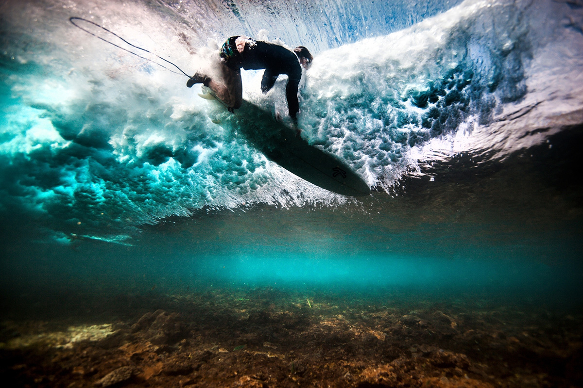 Surfers may be swallowing bacteria and spreading it to others