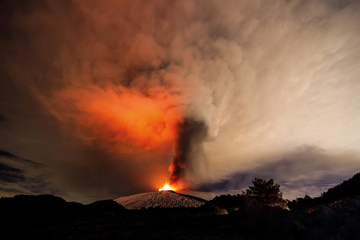 Mount Etna may not really be a 'proper' volcano at all