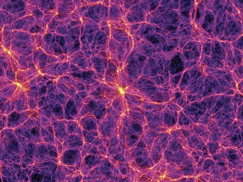 Now you see it...dark matter is all around but its nature is a mystery