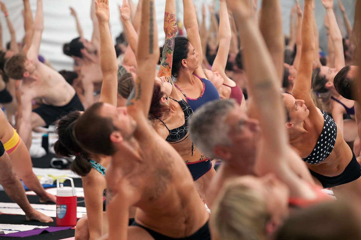 Bikram yoga may not need to be so hot