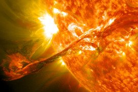 Stellar flares: bringer of life and death