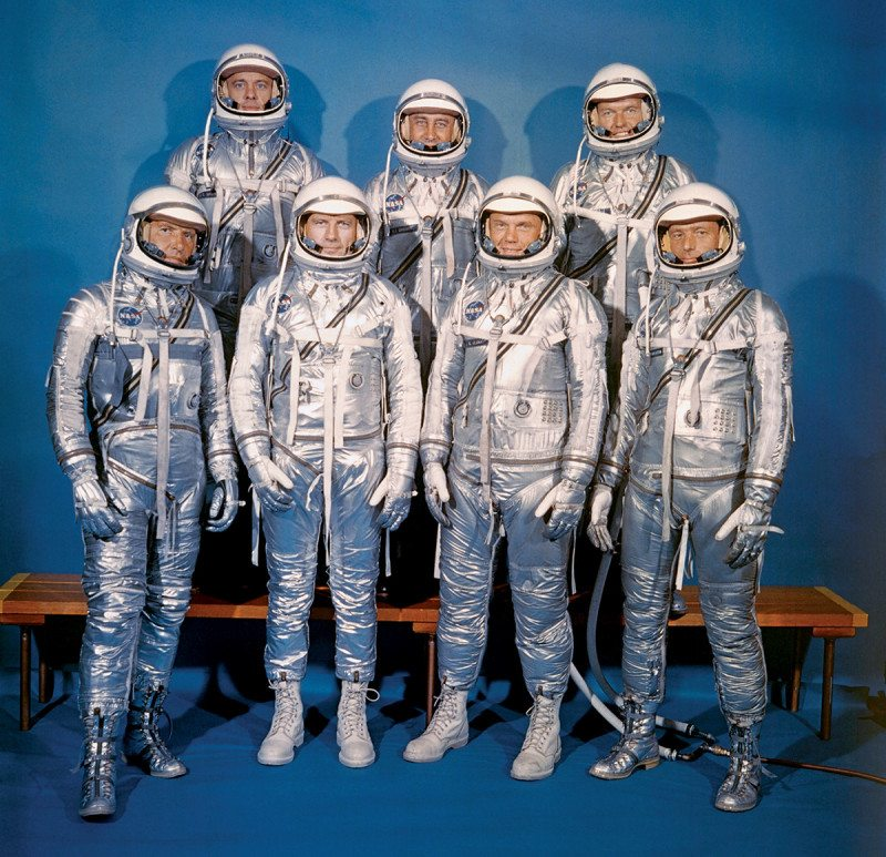 Mercury spacesuits