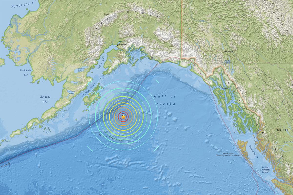 Magnitude 7.2 natural disaster hits Alaska, prompting tsunami warning Video