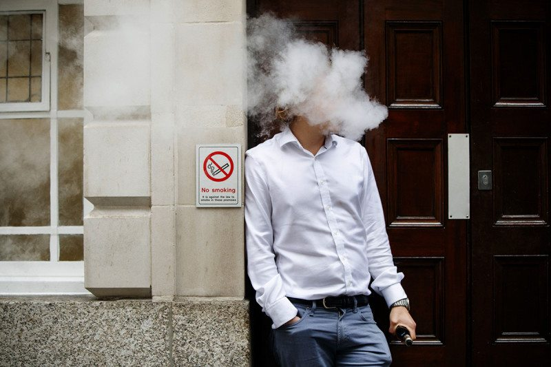 Vaping is safer than cigarettes