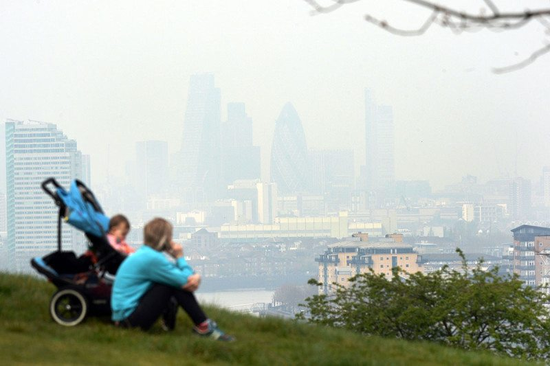 London has already reached air air pollution limits for 2018