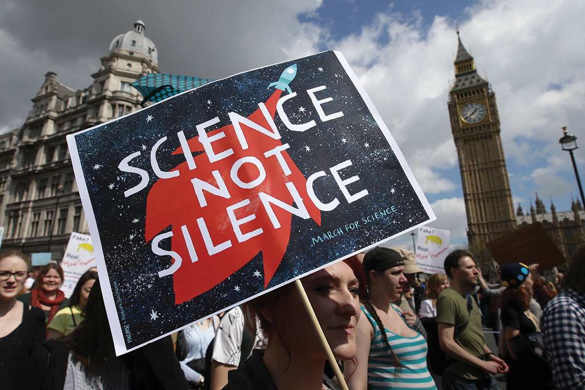 standing up of science
