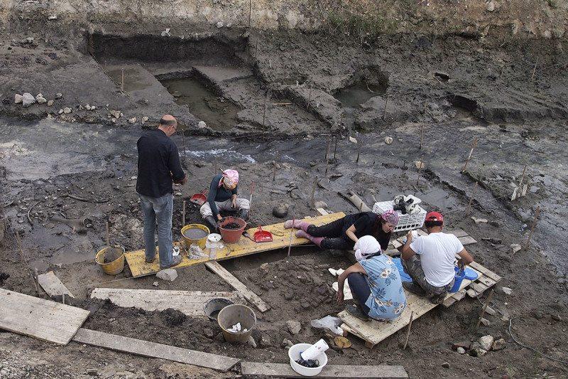 The Poggetti Vecchi excavation in Italy