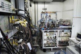 Inside the mobile lab that carried the atomic clock up a mountain