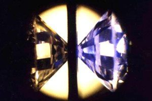 A diamond anvil can be used to squeeze molecules and make new ones