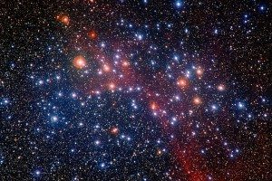 General view of a star field