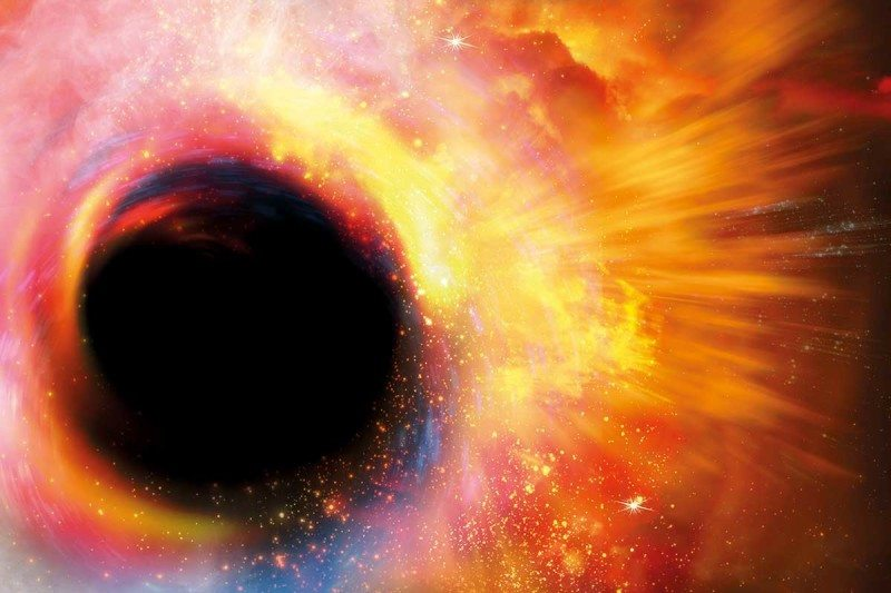 If you survived the trip inside a black hole, you'd witness some weirdness