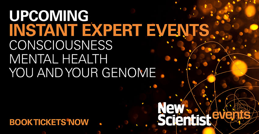 New Scientist upcoming events