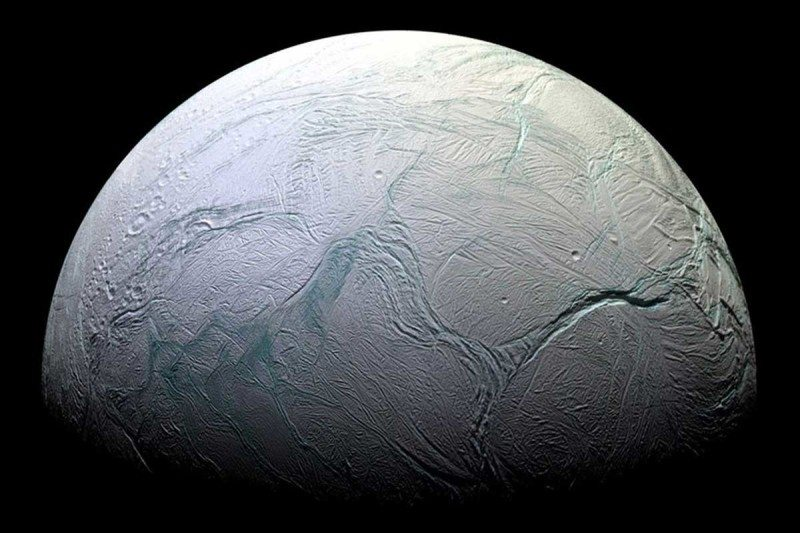 Could the methane we've detected on Enceladus be signs of life?