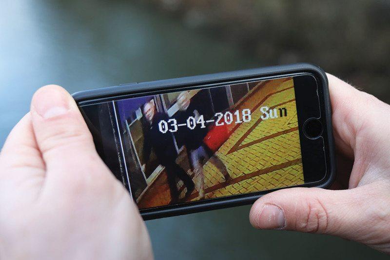 CCTV on mobile phone