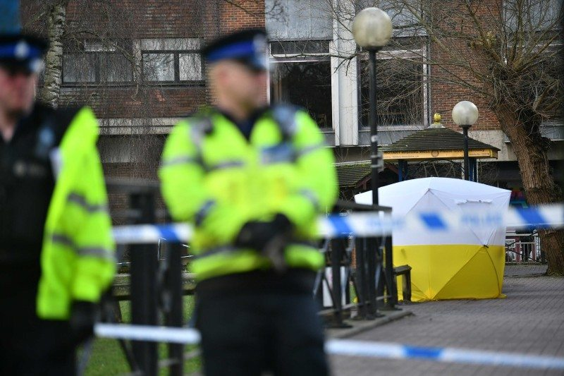 The poison used was a nerve agent - but it is still unclear which one
