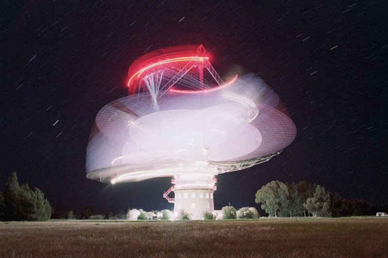 The Parkes Observatory in Australia, which was used to find three new fast radio bursts