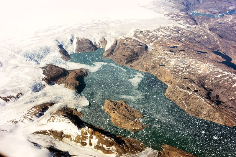 Meltwater from Greenland