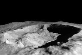 Juling crater on Ceres shows signs of a water cycle