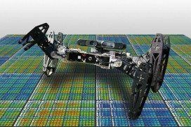 Robot with four legs
