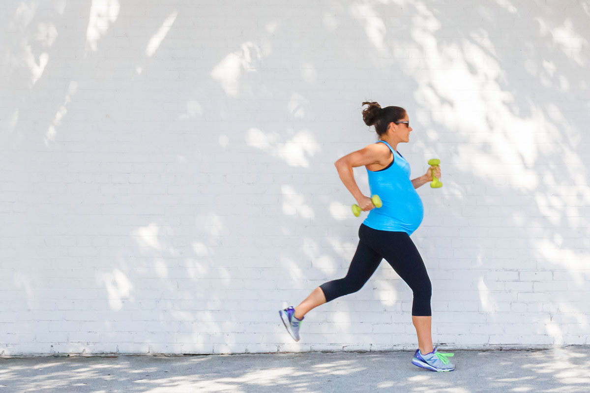Exercising during pregnancy can make your labour shorter