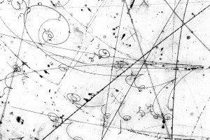 Neutrino tracks in a detector