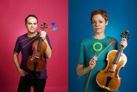 Two viola players