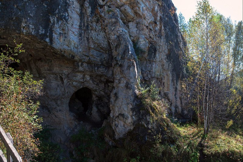 Denisova Cave in Siberia