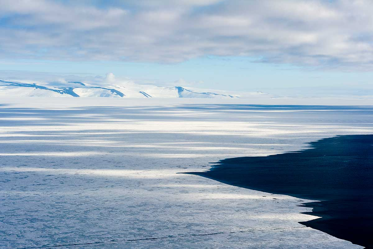 Weird Antarctic ice may explain how life endured on frozen Earth