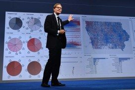 CEO of Cambridge Analytica Alexander Nix speaks at the 2016 Concordia Summit - Day 1 at Grand Hyatt New York on September 19, 2016 in New York City