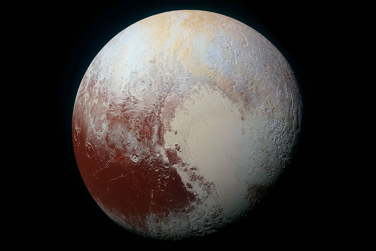 Gooey nitrogen ice may make Pluto's crater-free heart look young