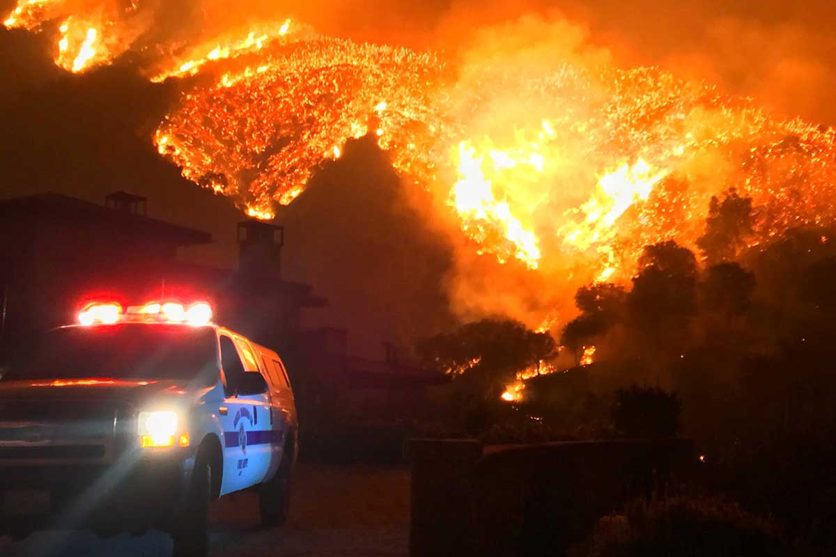 The 2017 wildfires in California