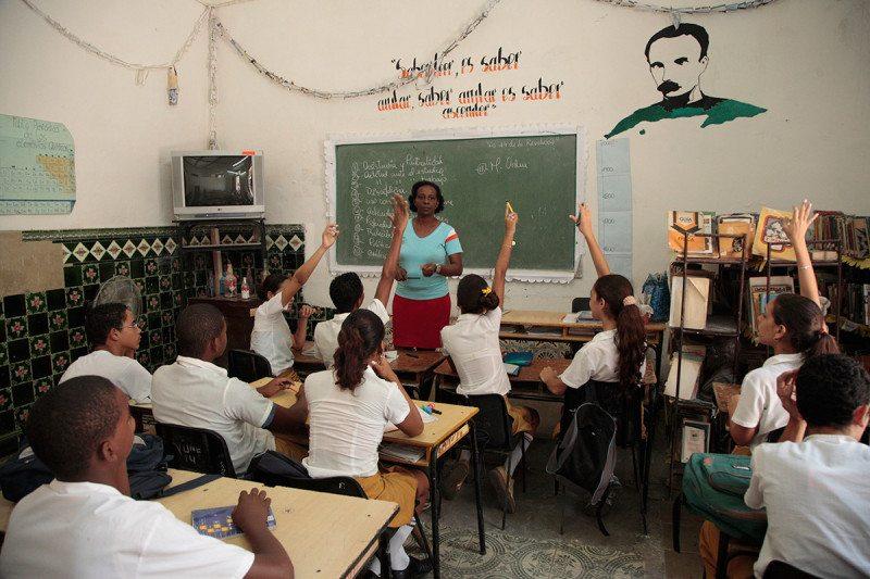 A school room