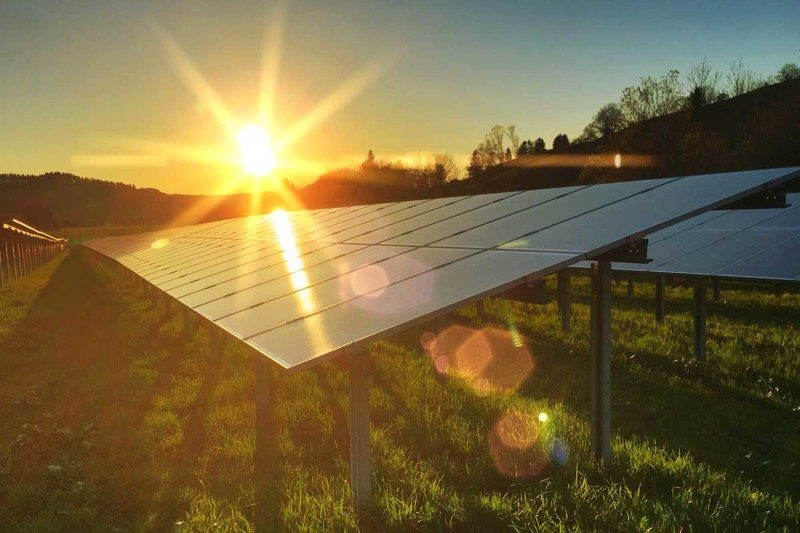 Put the pressure on a solar panel to make it absorb more light
