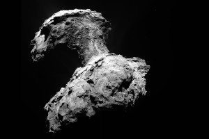It's 'snowing' on comet 67P