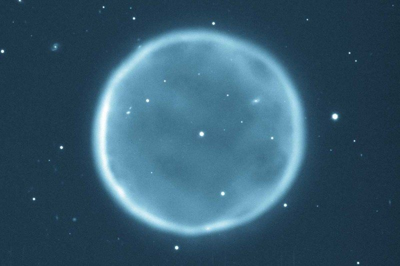 Sun forecast to end as a planetary nebula