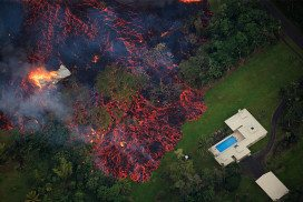 Lava from Kilauea is destroying people's homes