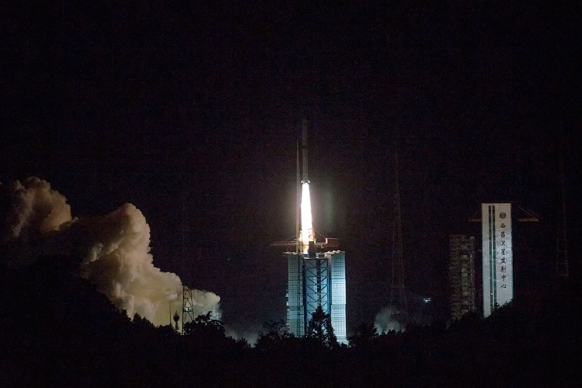 China launched a satellite to help explore the moon's far side
