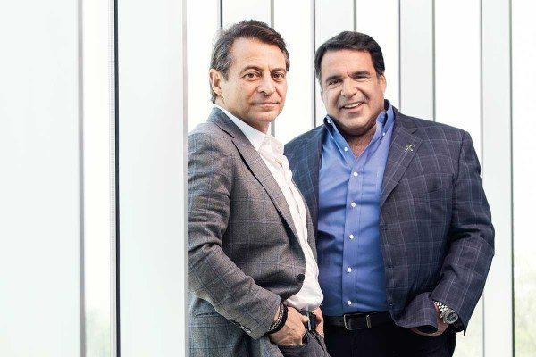 Peter Diamonds and Bob Hariri