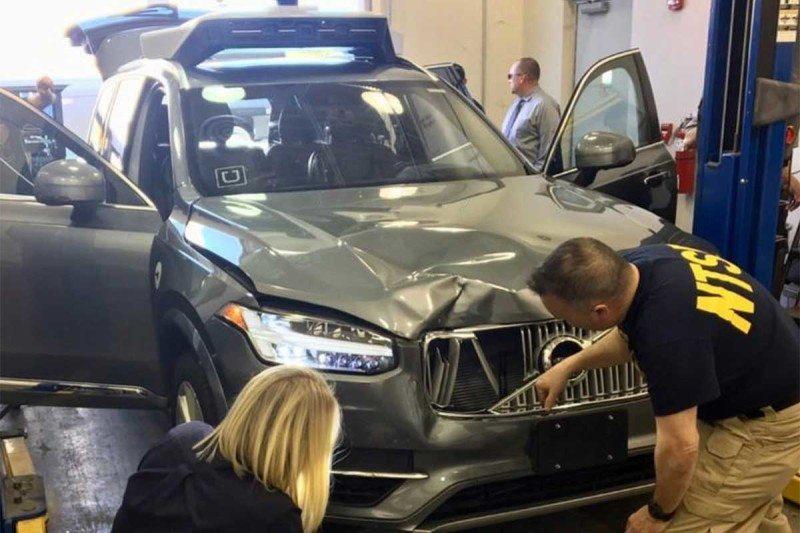 NTSB: Autonomous Uber spotted pedestrian before deadly crash