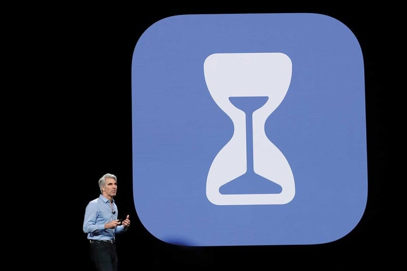 Craig Federighi announced Screen Time