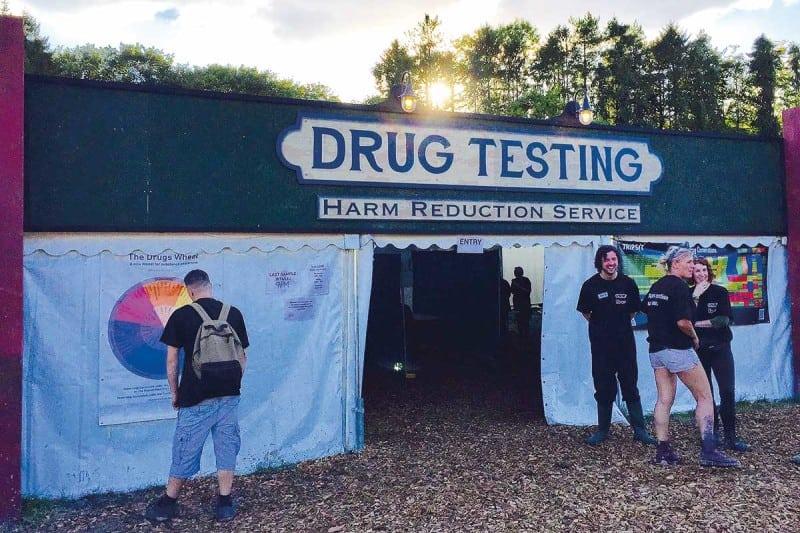 Drug Testing Tent