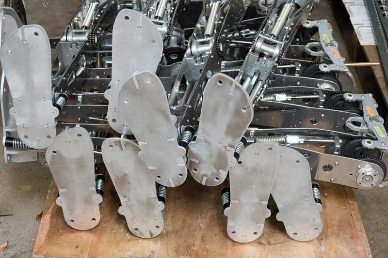 robot feet