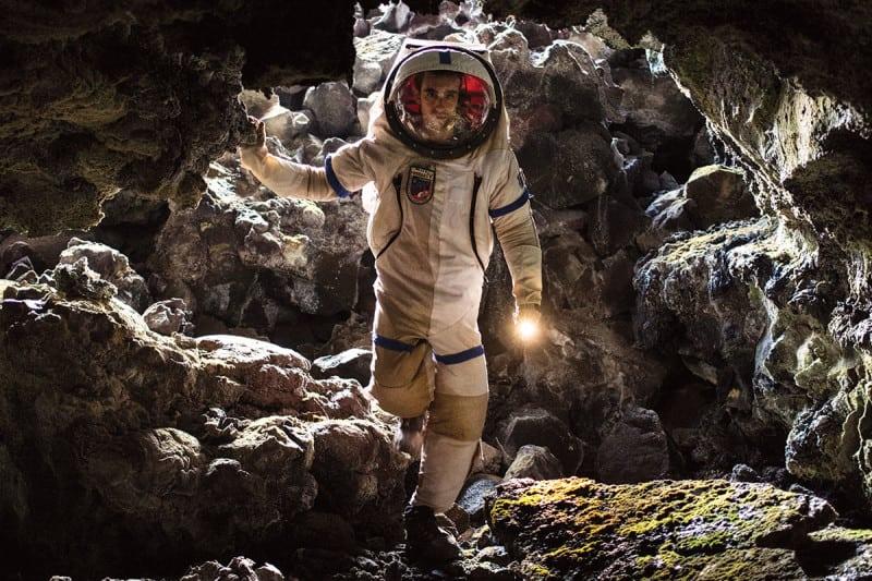 spacewalk on lava