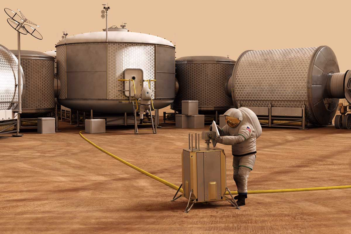 Colonists could use genetically modified bacteria to settle Mars